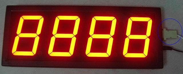 LED Counter Display