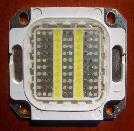 Products Pictures of 100WBRUW High Power LED Light Source